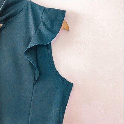 Vestido Azul Marinho P