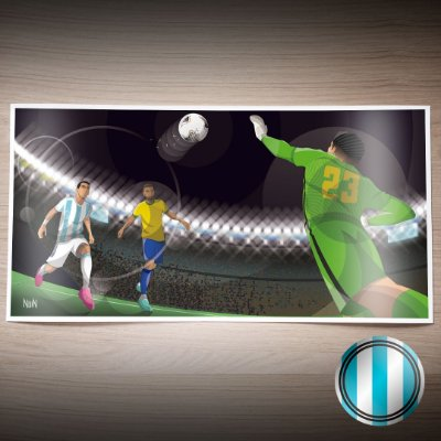 Argentina 2021 - Maracanazo Argentino (PÔSTER)