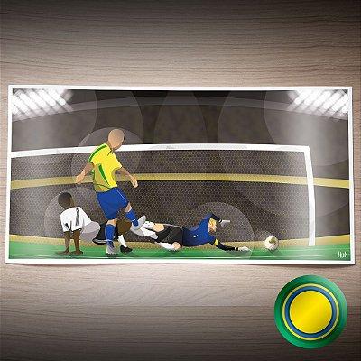 Brasil 2002 - É Penta (PÔSTER)