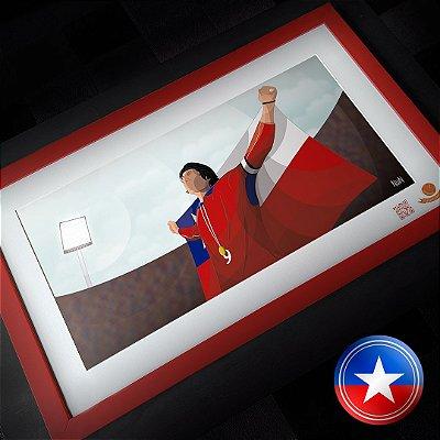 Chile 2001 - A Despedida (QUADRO)