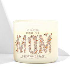 Vela 3 pavios Fragrância Champagne Toast - Edição dia das Mães