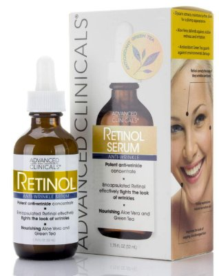 Sérum Advanced Clinicals Retinol 52 Ml Antirugas