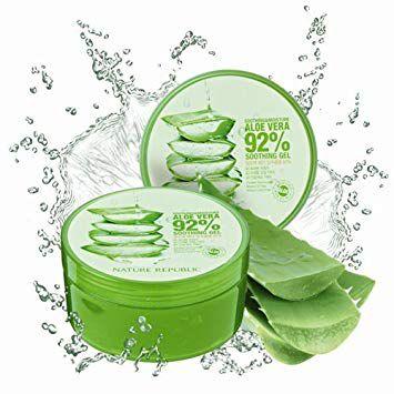 Gel Hidratante Aloe Vera Soothing e Moisture Nature Republic 92% 300ml
