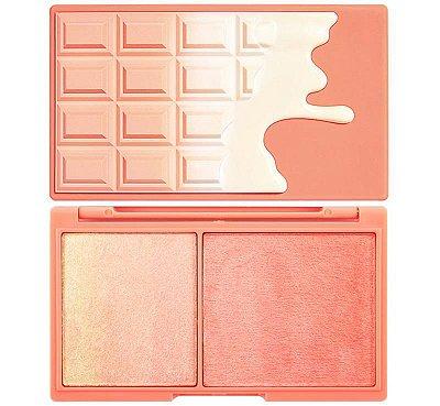 Peach an Glow Revolution - Blush e Iluminador