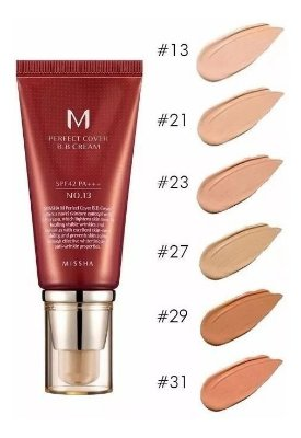 M Perfect Cover BB Cream 50ml Missha