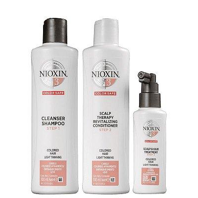 Kit Nioxin System 3 (3 Produtos)