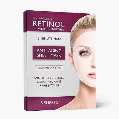 Retinol Sheet Mask 5 unidades