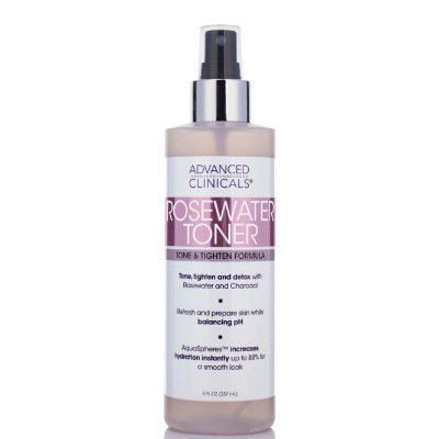 Tônico Facial Advanced Clinicals Rosewater 237ml