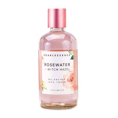 Tônico Facial Pearlessence Rosewater+Witch Hazel 236ml