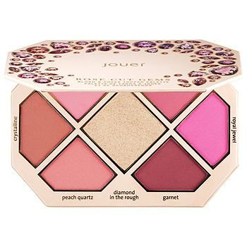 Jouer Cosmetics - Paleta Rose Cut Gems