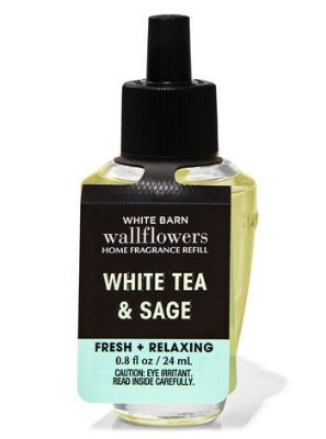 Refil Aromatizador de ambiente Bath And Body Works White Tea & Sage