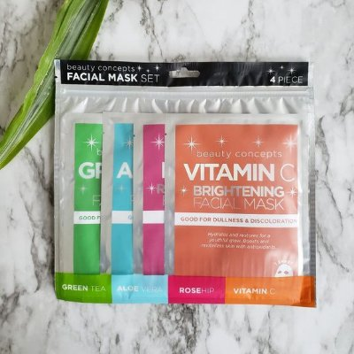 Kit Sheet Mask com 4 unidades