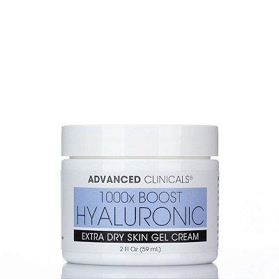 Hidratante Facial em gel Hialurônico 1000xBoost
