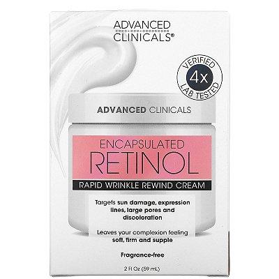 Hidratante Facial em Gel com Retinol Encapsulado Advanced Clinicals 59ml