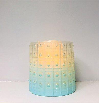 Lanterna de Vidro verde