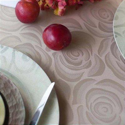Toalha de mesa quadrada e redonda mehndi