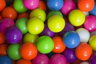 Bolas brasileiras para malabarismo em várias cores!