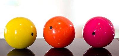Bola de contato vinil cheia 100mm - A inquebrável!