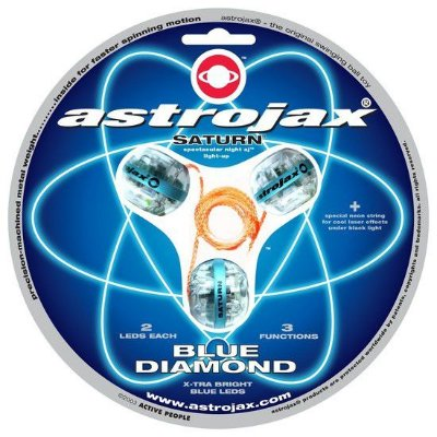 Astrojax: uma mistura de yoyo e diabolô extraterrestre!  ÚLTIMA UNIDADE!