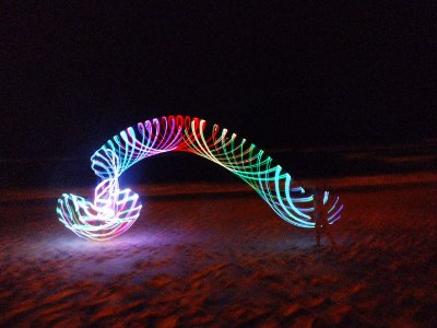 Bambolê de LED - Light Hula Hoop