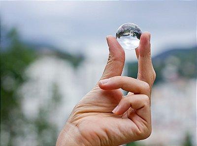 Bola de cristal 30mm, perfeita para mágicas!