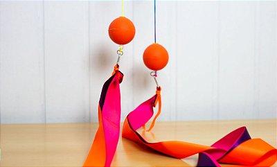 Swing poi de fitas colorido!