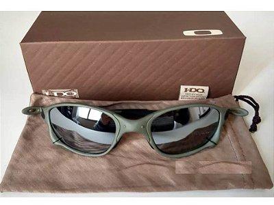 a9d7392e9 Oculos Oakley Double Xx Espelhada + Saquinho + Caixa Oakley