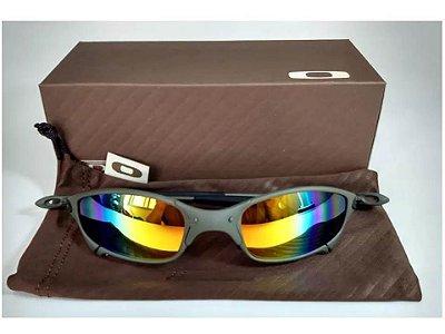 a995e634d Oculos Oakley Juliet X-Metal Arco-íris + Teste + Certificado