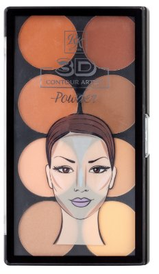 Rk 3D Contour Artist Powder-Light Medium