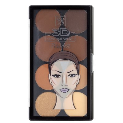 Rk 3D Contour Artist Powder-Medium Dark