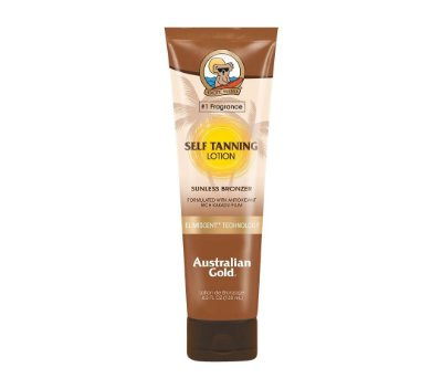 AUSTRALIAN GOLD INSTANT BRONZER SELF TANNING LOTION 130ML