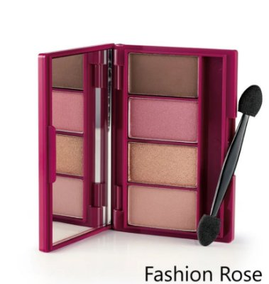 EUDORA SOUL FASHION ROSE QUARTETO DE SOMBRAS - 7,5G