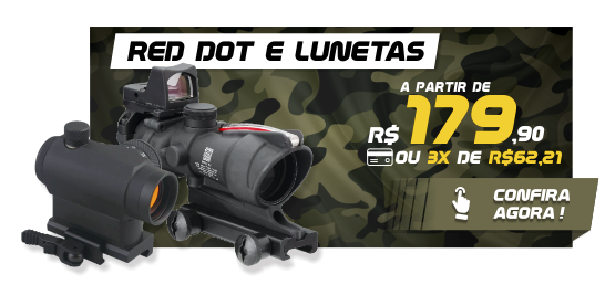 Mini Banners - Red Dot e Lunetas
