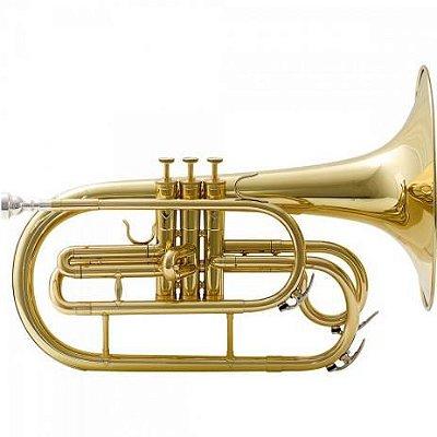 Melofone F sem Estojo M542L0 Prateado WERIL
