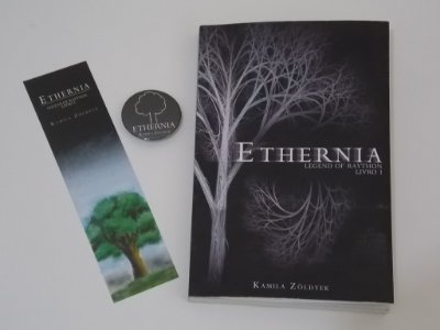 Kit livro Ethernia + Botton