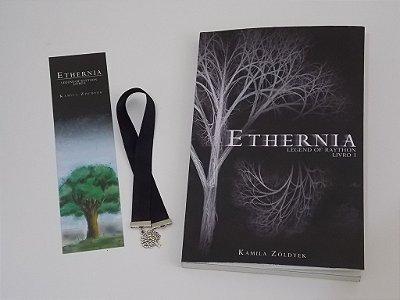Kit livro Ethernia + Marcador Árvore