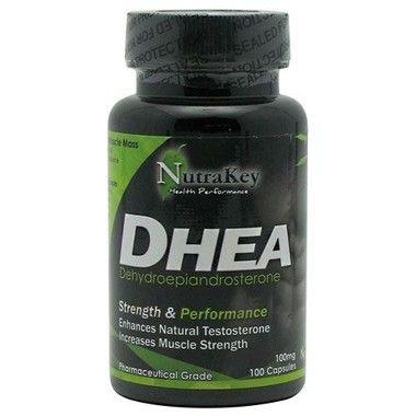 DHEA 100 mg - Nutrakey  - Ultramicronizado - 100 cápsulas