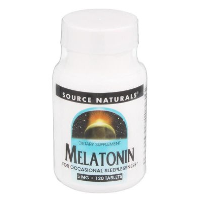 Melatonina 5 mg - Source Naturals - 120 tablets