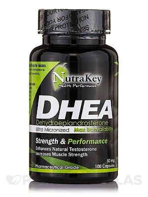 Comprar DHEA 50 mg - Nutrakey - Ultra Micronizado - 100 cápsulas (Envio Internacional)