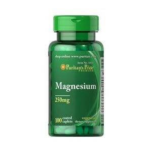 Magnésio 250 mg - Puritan´s Pride - 100 Tablets