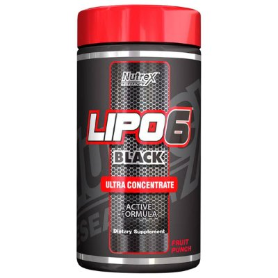 Lipo 6 Black Ultraconcentrado em pó - Nutrex - 125 g - O Original!