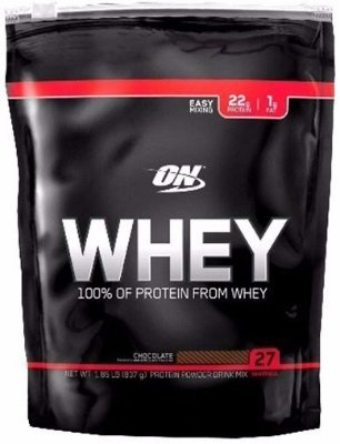 Whey Protein ON 837g REFIL - Optimum Nutrition - 27 porções