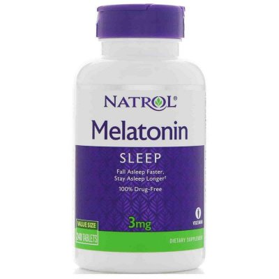 Comprar Melatonina 3 mg - Natrol 240 tablets (Envio Internacional)