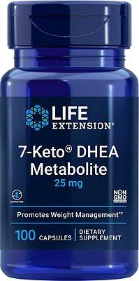 7-Keto DHEA 25 mg - Life Extension - 100 cápsulas