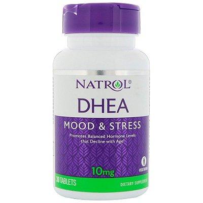 DHEA 10 mg - Natrol - 30 comprimidos
