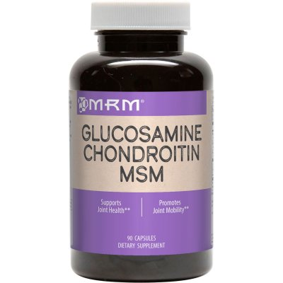 Glucosamina + Condroitina + MSM - MRM - 90 Cápsulas