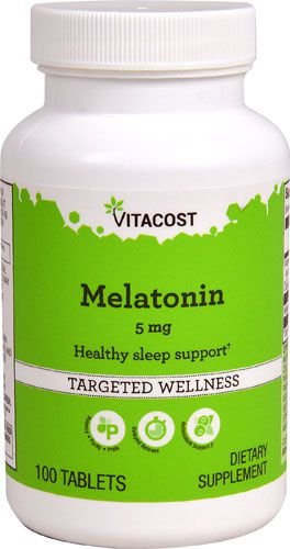 Comprar Melatonina 5 mg - Vitacost - 100 tablets (hormônio do sono)