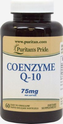 Coenzima Q10 (CoQ10) 75 mg  - Puritan´s Pride - 60 softgels Liberação Rápida