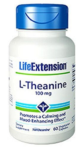 L-Teanina (L-theanine) 100 mg - Life Extension - 60 Cápsulas