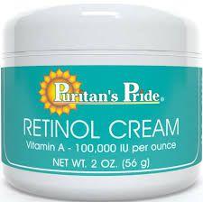 Creme Retinol Rico em Vitamina A - Puritan´s Pride - 56 g
